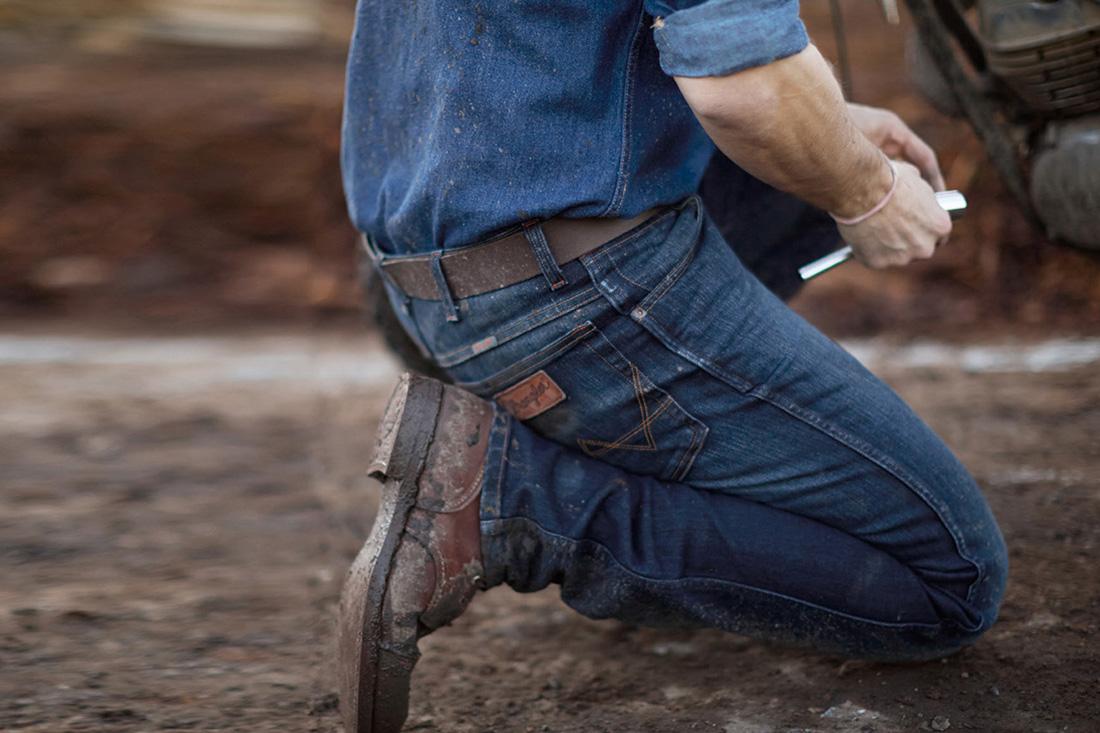 Jeans uomo Wrangler Treviso