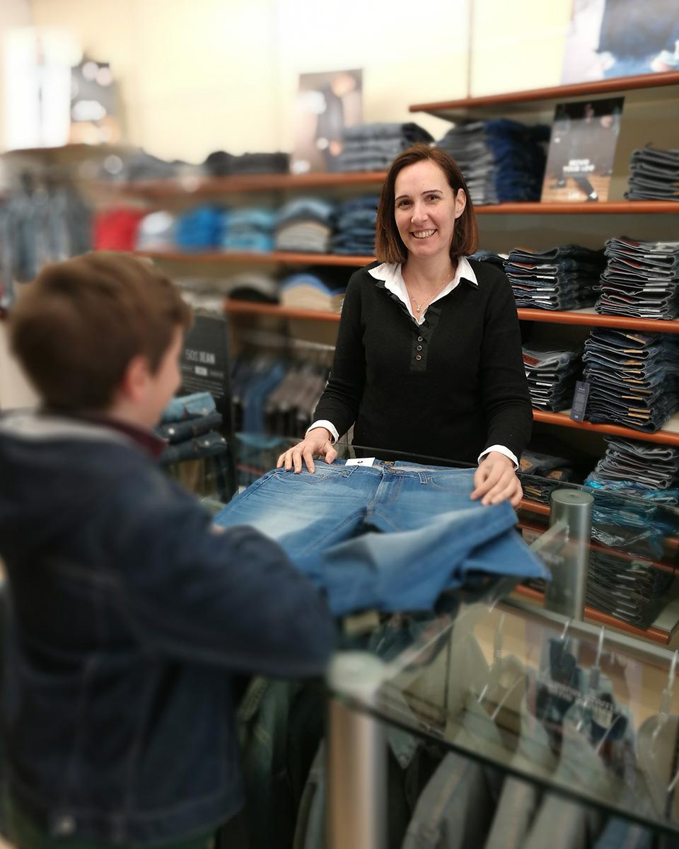 Negozio di abbigliamento a Treviso - Al Lavoratore 02